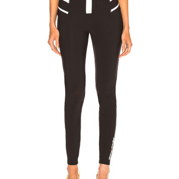 Fenty by Puma Zip Motto Legging in Puma Black | FWRD
