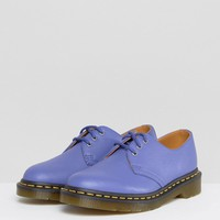 Dr Martens 1461 leather Lace Up Flat Shoe at asos.com