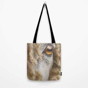 Leicester Longwool Sheep 2 Tote Bag by Linsey Williams Wall Art, Clothing, And