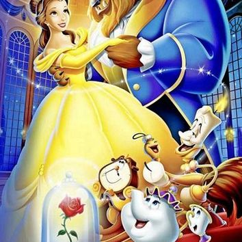 5D Diamond Painting Beauty and The Beast and Friends Kit