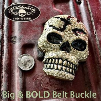 Blinged Out Belt Buckle (buckle010)