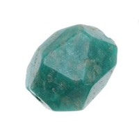 AA Green Russian Amazonite Gemstone 8-22mm Faceted Nugget Beads (10) - Walmart.com