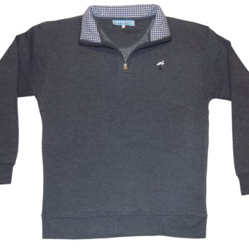 Navy Fleece Pullover