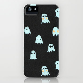 ghosts iPhone & iPod Case by Maya Bee Illustrations