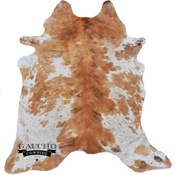 Cowhide Rug - Tricolor Cowhide - Premium Quality - 100% Natural & Animal Product