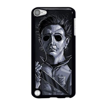 MICHAEL MYERS HALLOWEEN ART iPod Touch 5 Case Cover