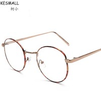 2017 Optical Glasses Frame Women Vintage Round Cycle Glasses Frames Woman Fashion Eyeglasses Frame Oculos De Grau Eyewear RB105