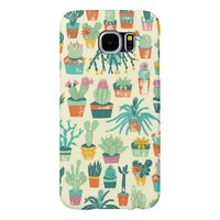 Cactus Pattern Samsung Galaxy S6 Cases