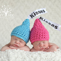 Newborn Baby Crochet Twin Kisses Hats
