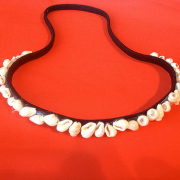 Small seashell headband
