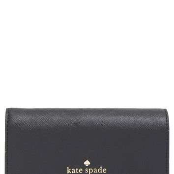 kate spade new york 'cedar street - kieran' two tone saffiano leather wallet | Nordstrom