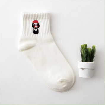 The Professional: Léon & Mathilda 2 Pair Crew Sock Set