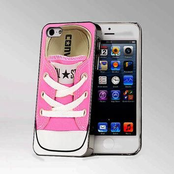Converse All Star Pink Shoes - Design Photo Hard Case iPhone 4/4s case or iPhone 5 cas