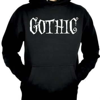 Gothic Way of Life Pullover Hoodie Sweatshirt Strange Unusual Spooky Creepy Dark Alternative Clothing