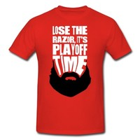 Hockey Playoff Beard T-Shirt | Spreadshirt | ID: 12325951