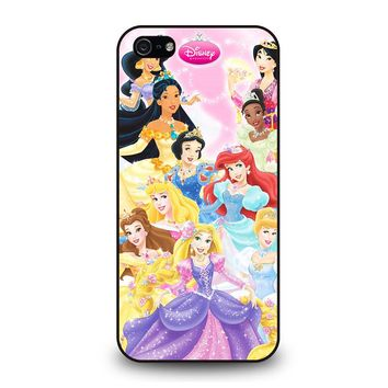 PRINCESS OF DISNEY iPhone 5 / 5S / SE Case Cover