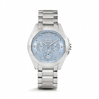 TRISTEN STAINLESS STEEL COLOR DIAL BRACELET WATCH