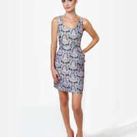 BB Dakota by Jack Carla Dress - Brocade Dress - $62.00