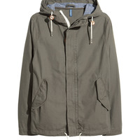 H&M - Canvas Parka