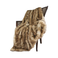 Tundra Faux Fur Throw