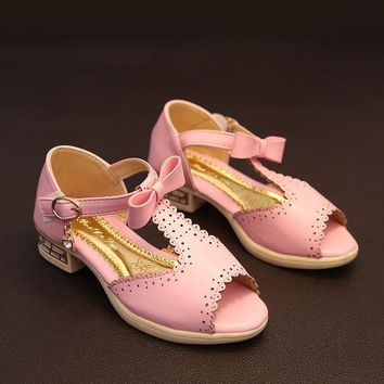 PEAPIX3 Design Stylish Summer Korean Shoes Princess Butterfly Sandals [4919914116]