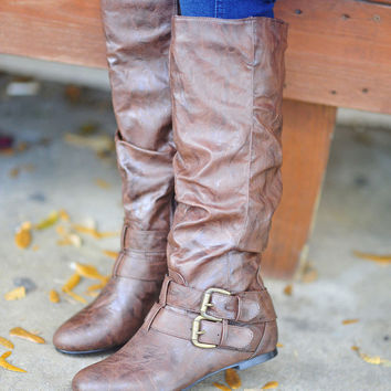 Walk In The Woods Boots: Brown | Hope's
