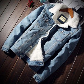 Keep Cozy Denim Jacket