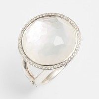 Women's Ippolita 'Stella - Lollipop' Cocktail Ring - Silver/ Mother Of Pearl