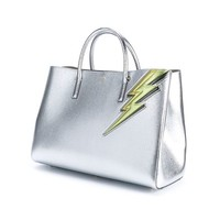 Anya Hindmarch Maxi Ebury Lightning Bolt Leather Bag - Browns - Farfetch.com