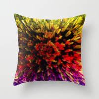 STERIC PHENOLS Throw Pillow by Chrisb Marquez