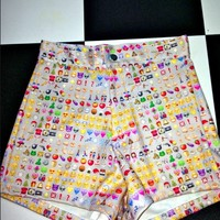 SWEET LORD O'MIGHTY! EMOJI SHORTS