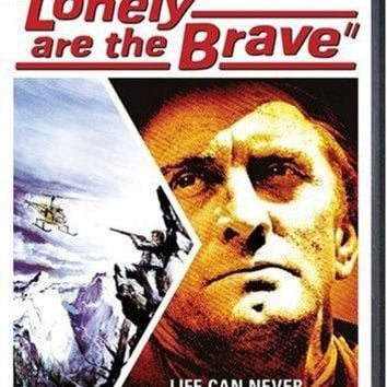 Kirk Douglas & Gena Rowlands & David Miller-Lonely are the Brave
