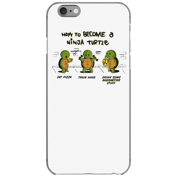 become a ninja turtle iPhone 6/6s Case