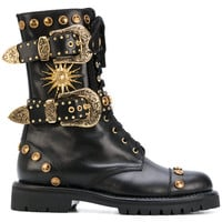 Fausto Puglisi Studded Boots - Farfetch