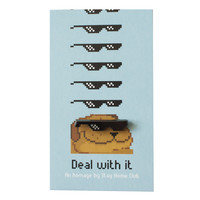 Deal With It Lapel Pin