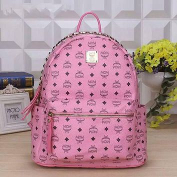 DCCKB3R MCM women Bag Shoulder School Bag Backpack