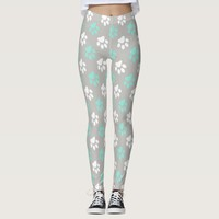 Paw Print Pattern Leggings