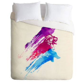 Robert Farkas Wild Colours Duvet Cover