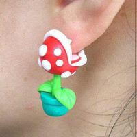 Nintendo Super Mario YOUCH Piranha Plant Polymer by BitsofRainbow