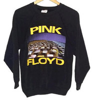Vintage 1987 Pink Floyd Sweatshirt Momentary Lapse of Reason Rare Band Sweater Authentic Vintage Size Medium