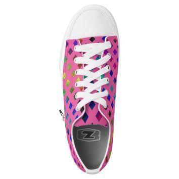 Low rainbow studded converse Designer Sneakers Printed Shoes