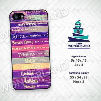 iPhone Case, Disney, Story Books, Princess, iPhone 5 case, iPhone 5C Case, iPhone 5S case, iPhone 4 Case, iPhone 4S Case, Phone Skin, DY05
