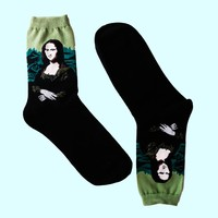 Mona Lisa Socks | Long