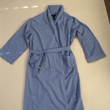 Stafford Men's Cotton Robe, One Size Fits Most