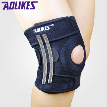 Professional  Support Adjustable Sports Leg Knee Support Brace Wrap Protector Pad DURABLE FREE SHIPPING!