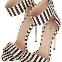 **MALIBU STRIPE SANDALS BY CJG