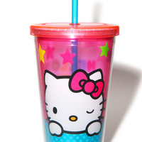 Vandor Hello Kitty Stars Travel Mug Pink One