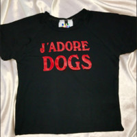 SWEET LORD O'MIGHTY! JADORE DOGS CROP TEE