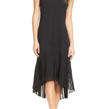 Vince Camuto High/Low Midi Dress (Regular & Petite) | Nordstrom