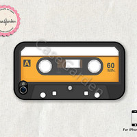 Tape Cassette iPhone 4 Case, iPhone 4s Case, iPhone Case, iPhone Hard Case, iPhone 4 Cover, iPhone 4s Cover